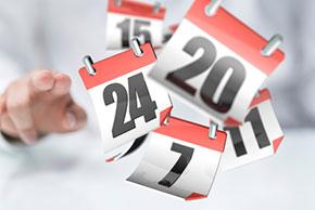 Rendez-vous avec Réunir, SAVE THE DATES